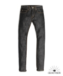 16 FS M01 RAW DENIM BLACK DESIGEND EXCLUSIVELY FOR MUSINSA