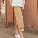 어썸 이미지네이션(AWESOME IMAGINATION) WOMAN LETTERING - CHINO PANTS Beige