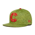 크룩스앤캐슬(CROOKS & CASTLES) CROOKS & CASTLES Mens Woven Fitted Jungle Cap - New Chain C RAIN