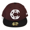 크룩스앤캐슬(CROOKS & CASTLES) CROOKS & CASTLES New Chain Fitted Cap BUR
