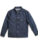 언터치드(untouched) SEMI OVERFIT DENIM JACKET VIRGIN