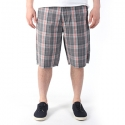 [Etnies] FIFTY FOUR PLAID REGULAR FIT SHORT (Dark Grey)