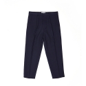 ANKLE MEN WIDE SLACKS NAVY