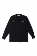 RUGBY JERSEY_BLACK