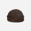 뉴욕 햇(NEW YORK HAT CO.) 7915 WOOL HERRINGBONE THUG BROWN