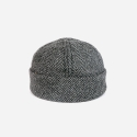 뉴욕 햇(NEW YORK HAT CO.) 7915 WOOL HERRINGBONE THUG GREY