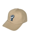 콰이트(QUITE) [콰이트] Q Hard Fist Cap (BEIGE)