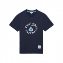 화이트블랭크레이블(WHITE BLANK LABEL) [HNK] Sweet More Spangle S/S Tee(NAVY)