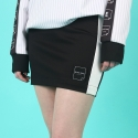 블랙페이지(BLACK PAGE) [WOMEN]LINE SKIRT