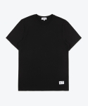 셔터(SHUTTER) SHUTTER BASIC COTTON 1/2 T-SHIRTS (BLACK)