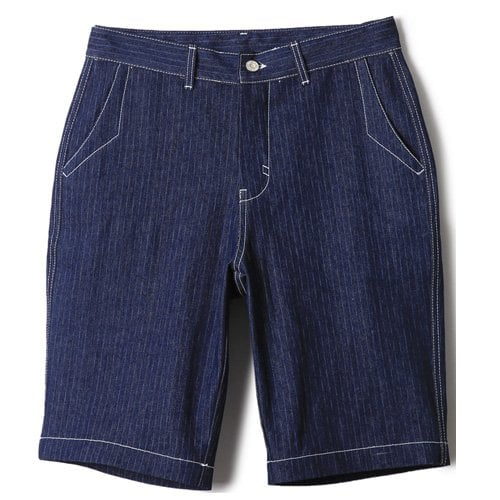 러기드하우스(RUGGED HOUSE) WABASH INDIGO HALF PANTS