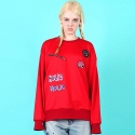 블랙페이지(BLACK PAGE) [UNISEX]HOLIC RED M.T.M