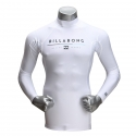 빌라봉(BILLABONG) 남성 래쉬가드( ALL DAY LS (WHITE)) [MWLYEALL-WHT]