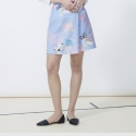 SPACE 1520 DAY wrap skirt