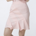 줄리빈즈(JULIEBEANS) Tailored rose pink skirt