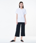 아오엠크(AOEMQ) WIDE LEG PANTS BLACK
