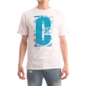 크룩스앤캐슬(CROOKS & CASTLES) CROOKS & CASTLES  Knit Crew T-Shirt - Illusive (White)