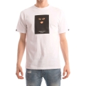 크룩스앤캐슬(CROOKS & CASTLES) CROOKS & CASTLES  Knit Crew T-Shirt - Crookstape (White)