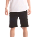 크룩스앤캐슬(CROOKS & CASTLES) CROOKS & CASTLES  Knit Short- Black Moon (Black/Lt Grey Multi)