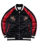 언더에어() Dragon Satin Souvenir Jkt - Black/Red