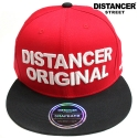 디스텐서(DISTANCER) [DISTANCER] ORIGINAL RED 스냅백 모자