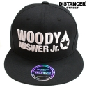 디스텐서(DISTANCER) [DISTANCER] WOODY ANSWER JR. 스냅백 모자