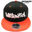 디스텐서(DISTANCER) [DISTANCER] SUBSTANTIAL 스냅백 모자