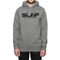 허프(HUF) HUF X SLAP HOODIE (GREY HEATHER)