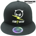 디스텐서(DISTANCER) [DISTANCER] TEAM FASTER 스냅백 모자