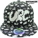 디스텐서(DISTANCER) [DISTANCER] URC (URBAN ROMANTIC CITY) 스냅백 모자