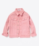 업스케일(UPSCALE) OVERSIZED REACTIVE DYES DYEING JACKET PINK