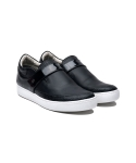 하티스(HA.TISS) Tri Cornered Black Slip on