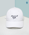다이아몬드 레이라(DIAMOND LAYLA) Layla ball cap - white