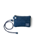 헤드포터(HEAD PORTER) DENIM ZIP WALLET