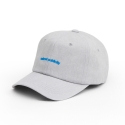 내셔널 퍼블리시티(NATIONAL PUBLICITY) LOGO BALL CAP_GREY