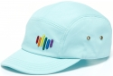 제니멀(ZANIMAL) RAINBOW FLOW CAMPCAP MINT
