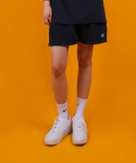 베이직코튼(BASIC COTTON) color logo shorts - navy
