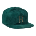 허프(HUF) HUF HAMMERED METAL H STRAPBACK HUNTER