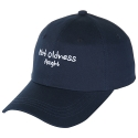 아잇(AIIIGHT) [Aiiight] Not Oldness Ball Cap Navy