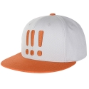 아잇(AIIIGHT) [Aiiight] Three Exclamation Snap Back Gray/Brown