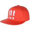 아잇(AIIIGHT) [Aiiight] Three Exclamation Snap Back Crimson