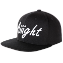 [Aiiight] Aiiight Original Snap Back Black