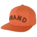 [Aiiight] Frand Soft Snap Back Chocolate