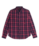 [콰이트] BGI Plaid Shirt (PINK)