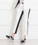 블락(BLAK) BACK TWO COLOR PANTS