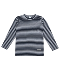 애터27(ATTA27) OVER STRIPE TEE _ NAVY