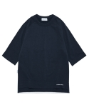 라이풀(LIFUL) SHORT RAGLAN SWEATSHIRT navy