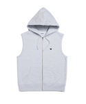 위캔더스(WKNDRS) W LOGO HOODED VEST (M.WHITE)