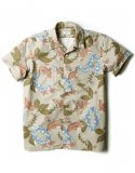 아웃스탠딩() 50S HAWAIIAN SHIRT [BEIGE]