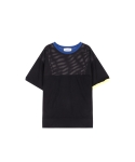 메리먼트(MERRIMENT) MESH COMBI T (2COLOR)